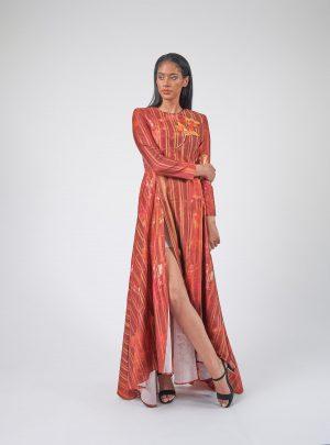 Batik Evening Dress