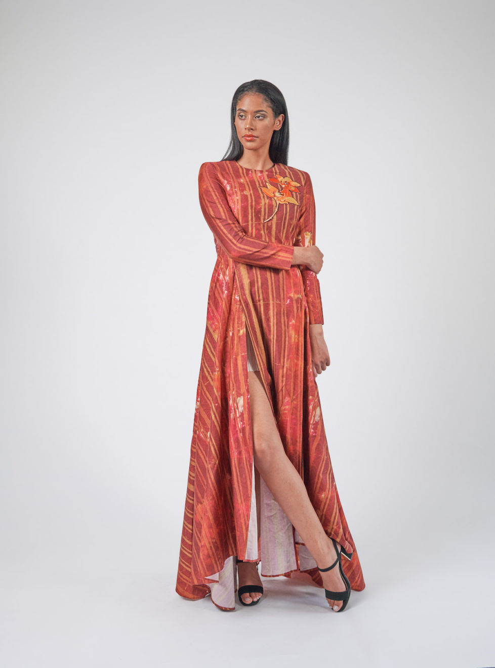 Batik Evening Dress-free