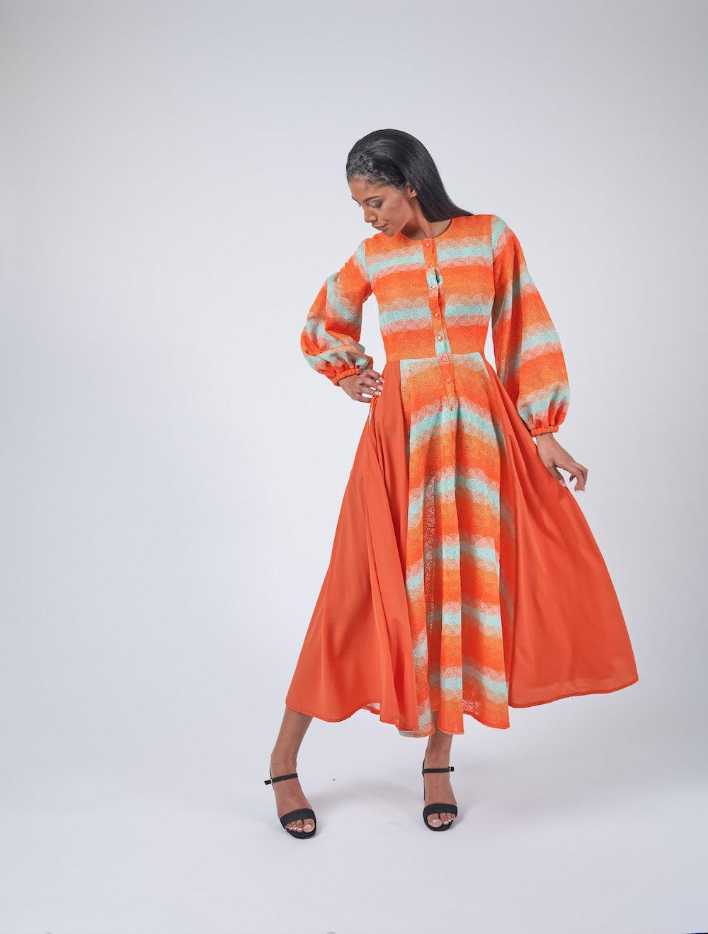 Lace Shirt Dress Freestyle