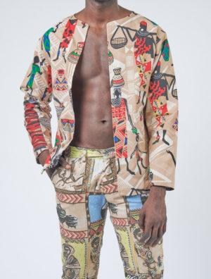 People Print Suit