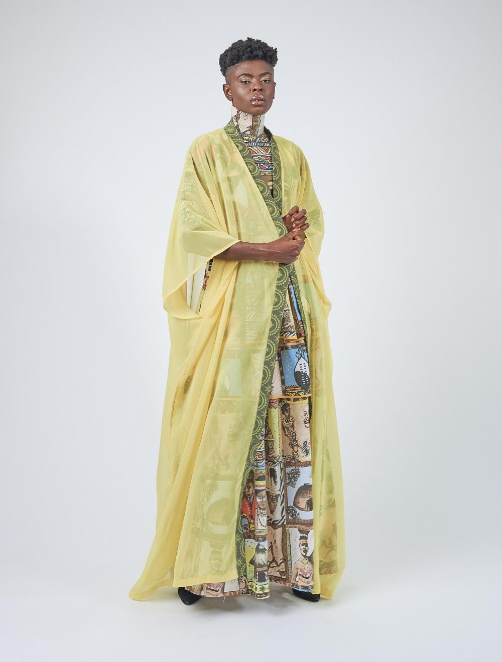 Yellow Kaftan Dress – Still