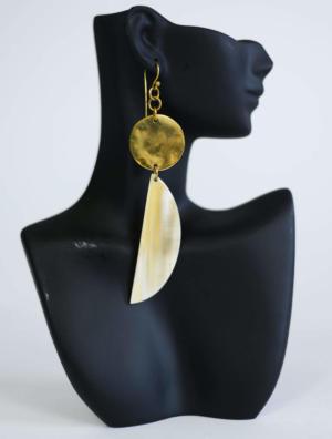 COSMI White Earrings
