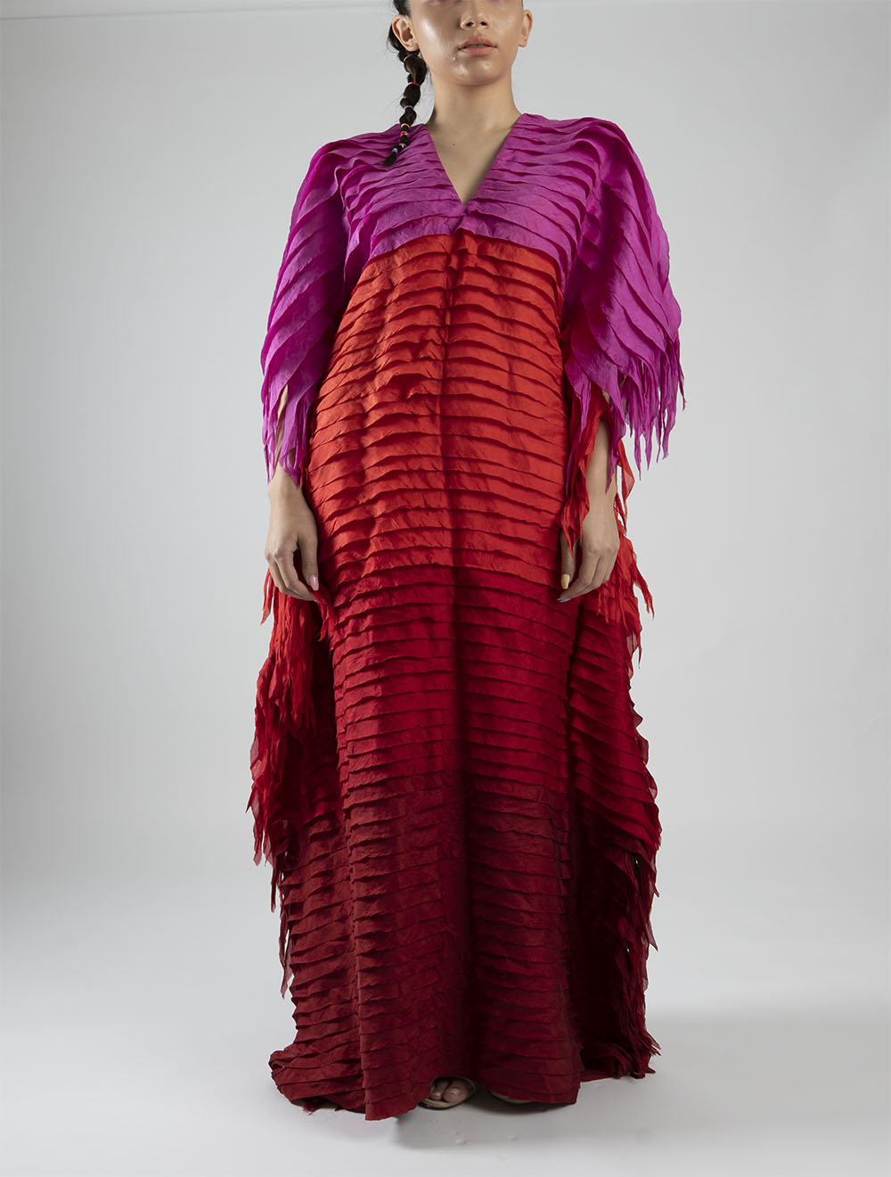 Pink Kaftan – Front Style