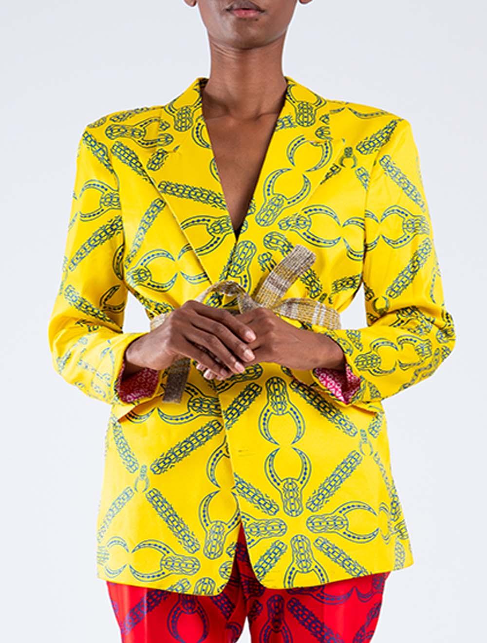 Inkomo yabenguni coat jacket – Front
