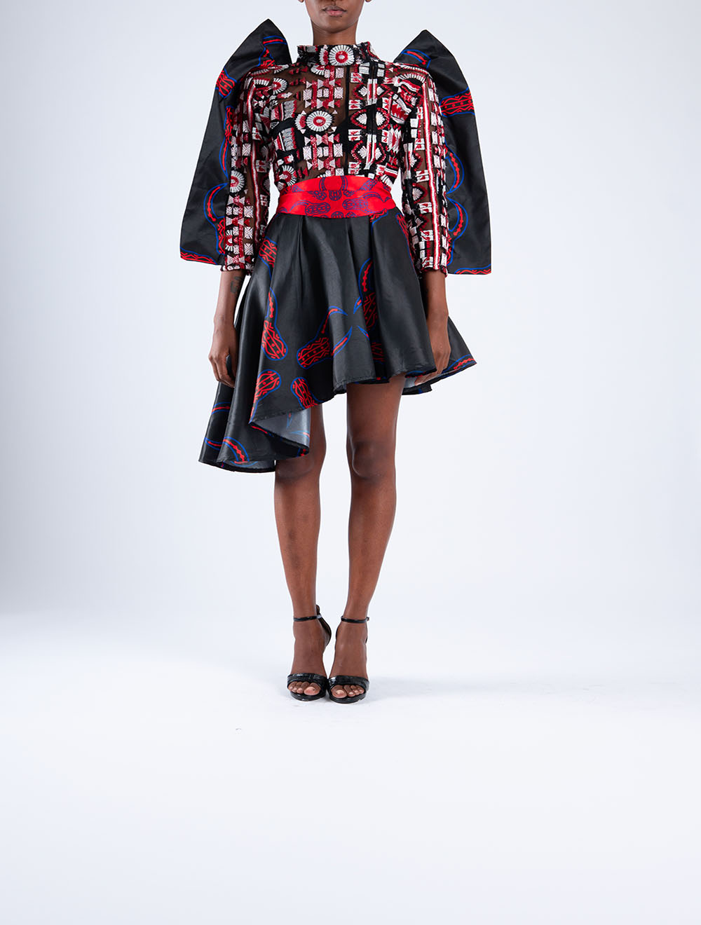 Inkomo yabenguni power short dress