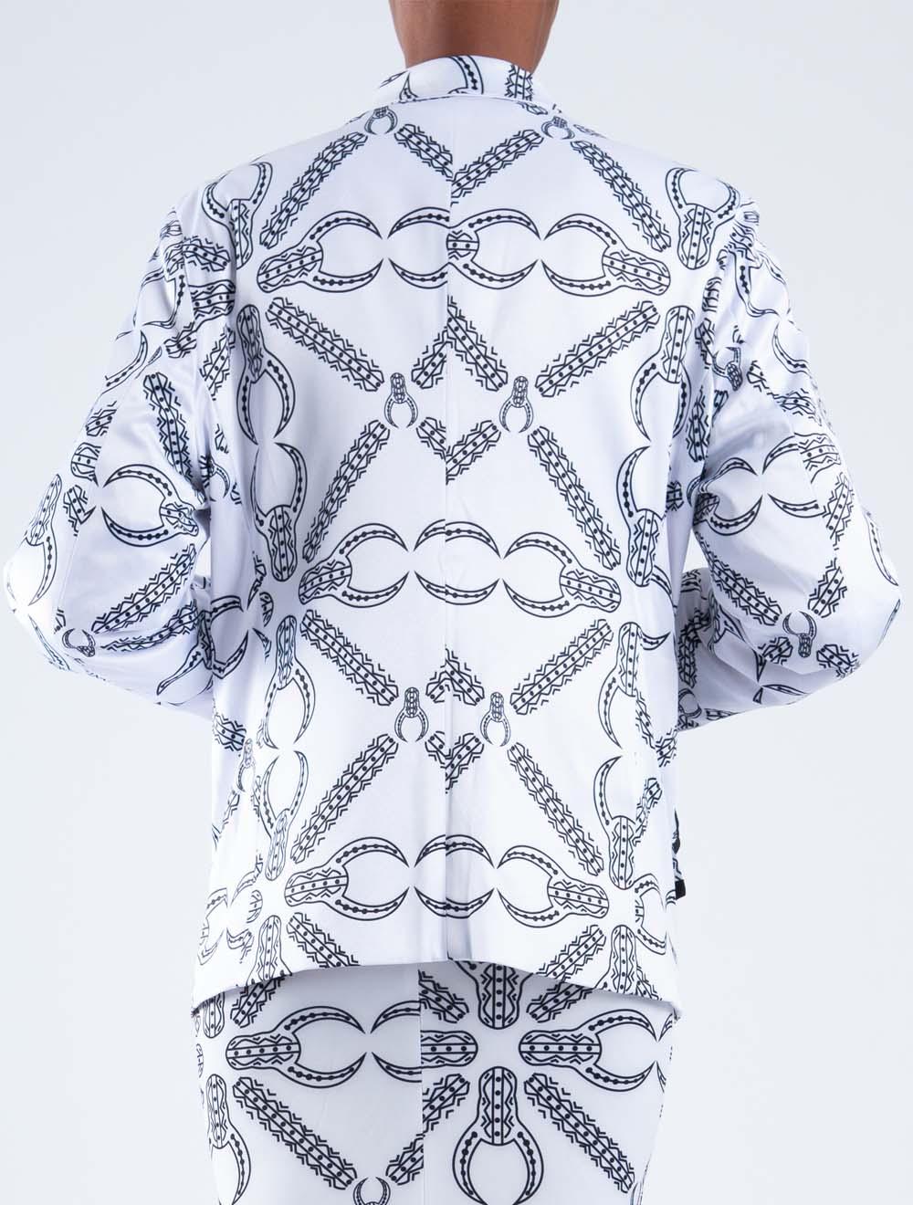 Inkomo yabenguni white blazer – Back
