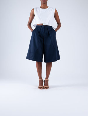 Rufaro Pleated Shorts
