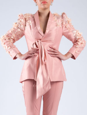 Tie-Me-Up Tailored Jacket