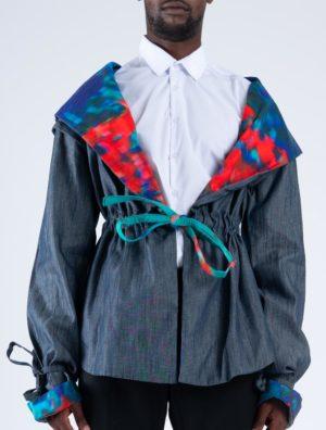 Art Denim Jacket