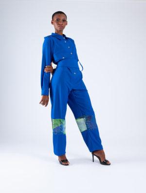 Art Industrial Style Jumpsuit