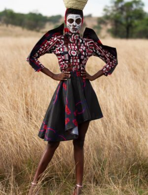 Inkomo Yabenguni Power Short Dress