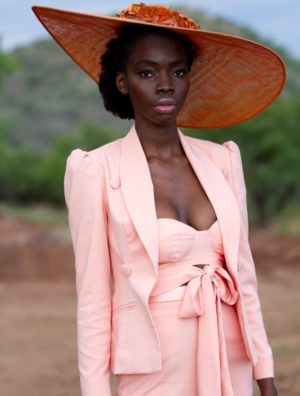 Oh-So-Peachy Tailored Jacket