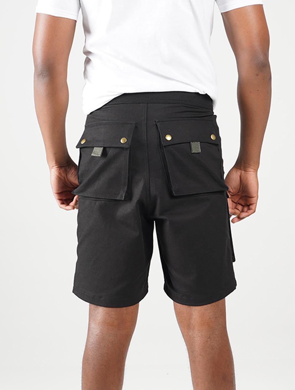 Inkunz'emnyama 3D shorts – Back