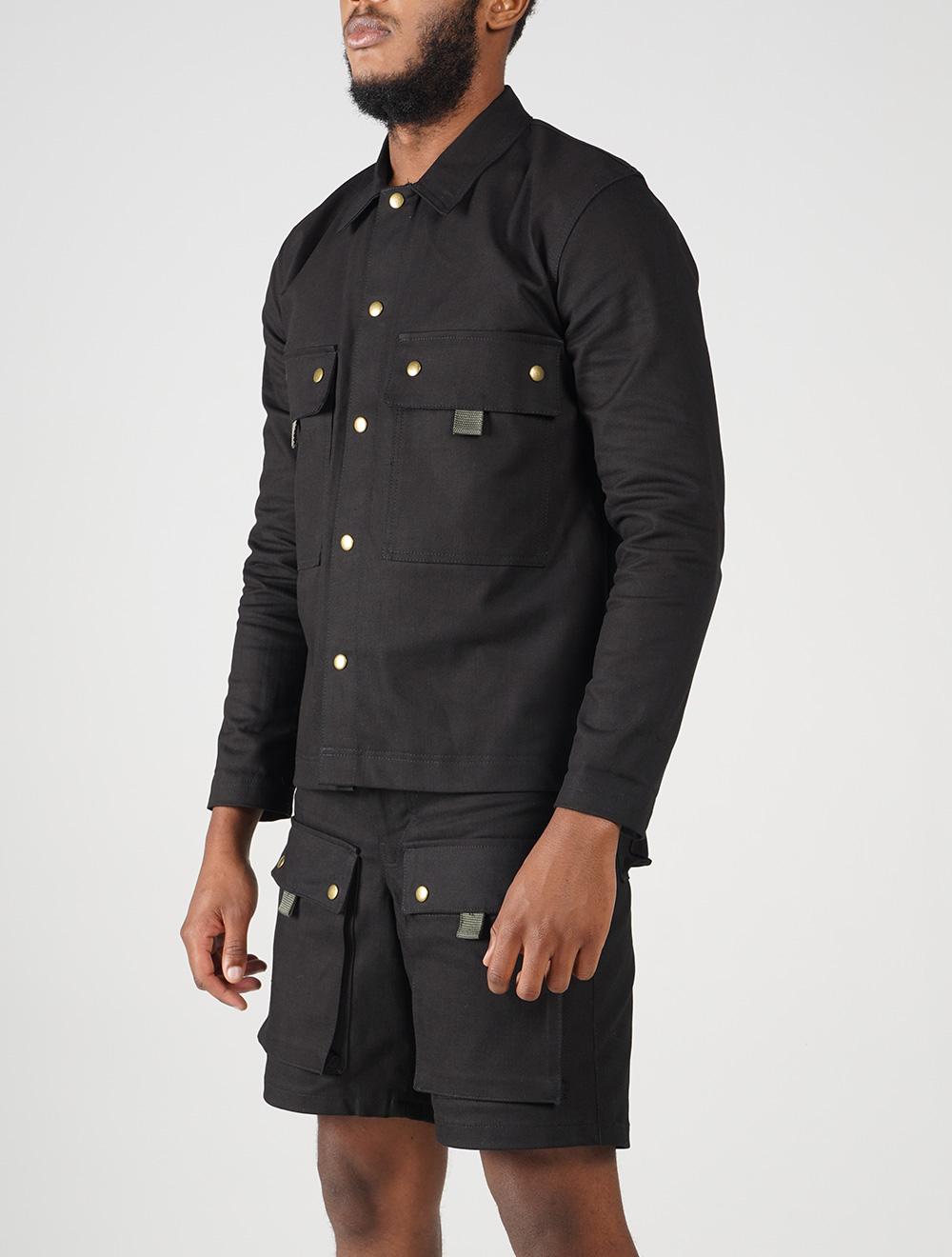 Inkunz'emnyama worker jacket – Side