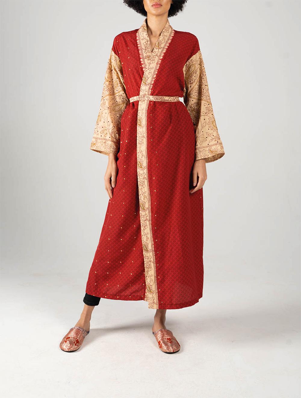 Red Amira Kimono